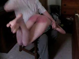 picture wife otk Amateur spanked