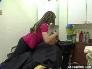 Goldfish reccomend Bangbros busty hairstylist austin