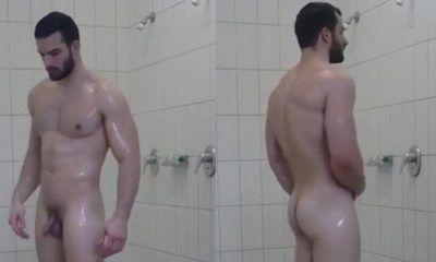 Healthy! Girls nude in gym shower really