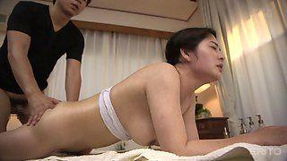 Asian milf massage porn