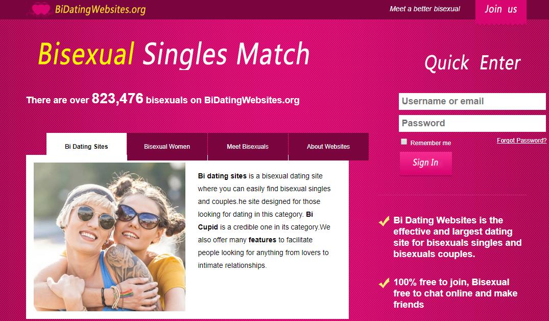 Free bisexual sites