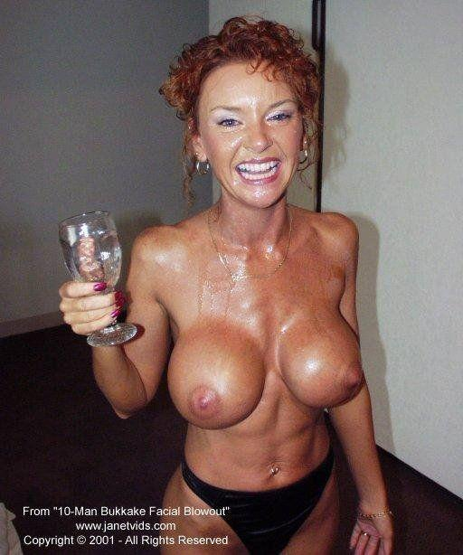 Mature big tits facefucked