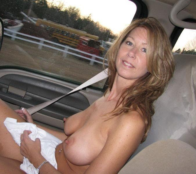 Housewife amateur topless mature