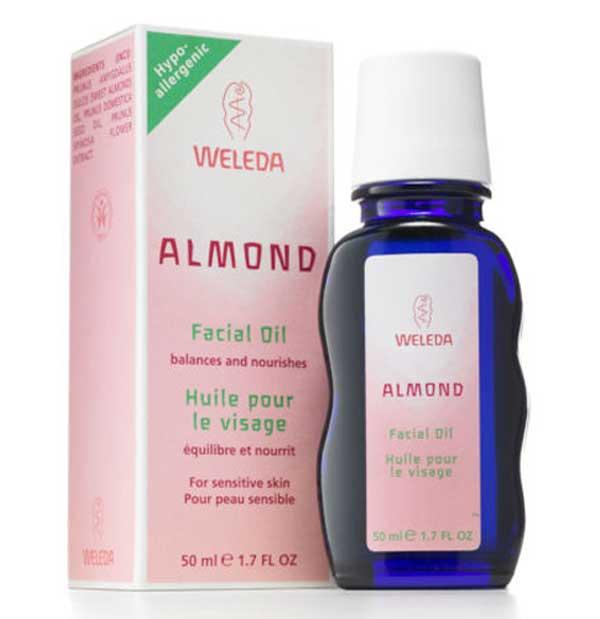 Tornado reccomend Almond oil facial care