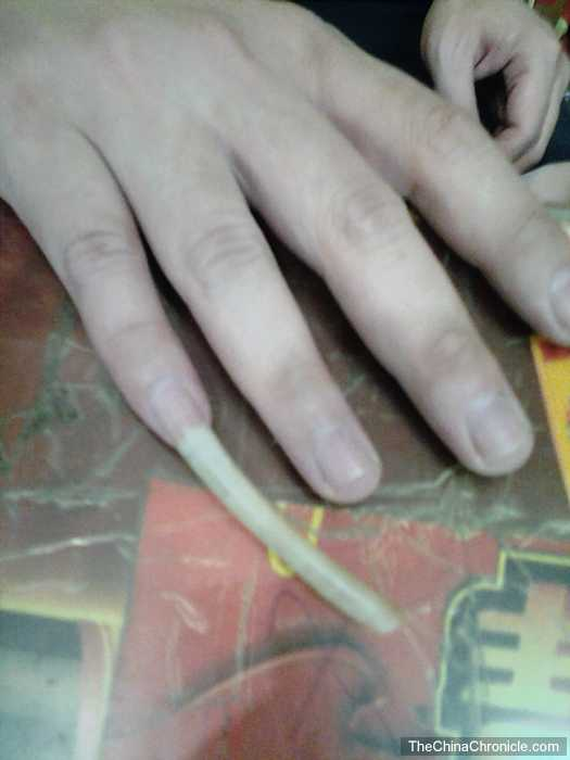 Blackbeard reccomend Asian long nail