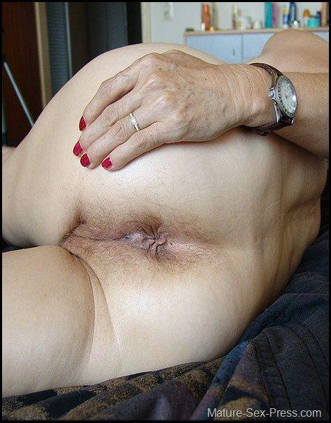hole the granny Fuck in ass