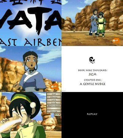 Avatar gentle nudge sex game