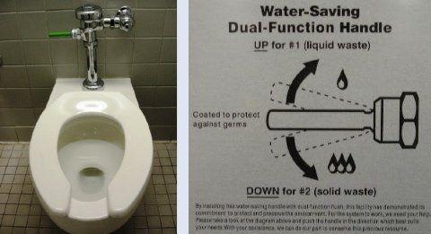 Flushing sperm down the toilet