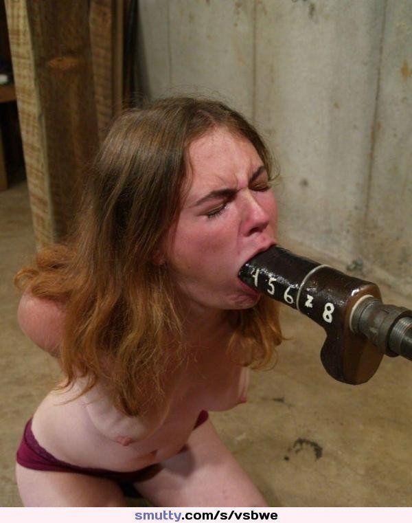 Teen bondage blowjob xxx training my lil