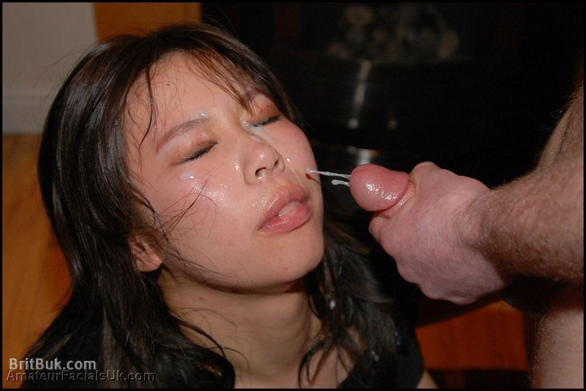 Bukkake blindfold tube