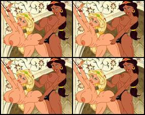 best of Girl Busty strips harem