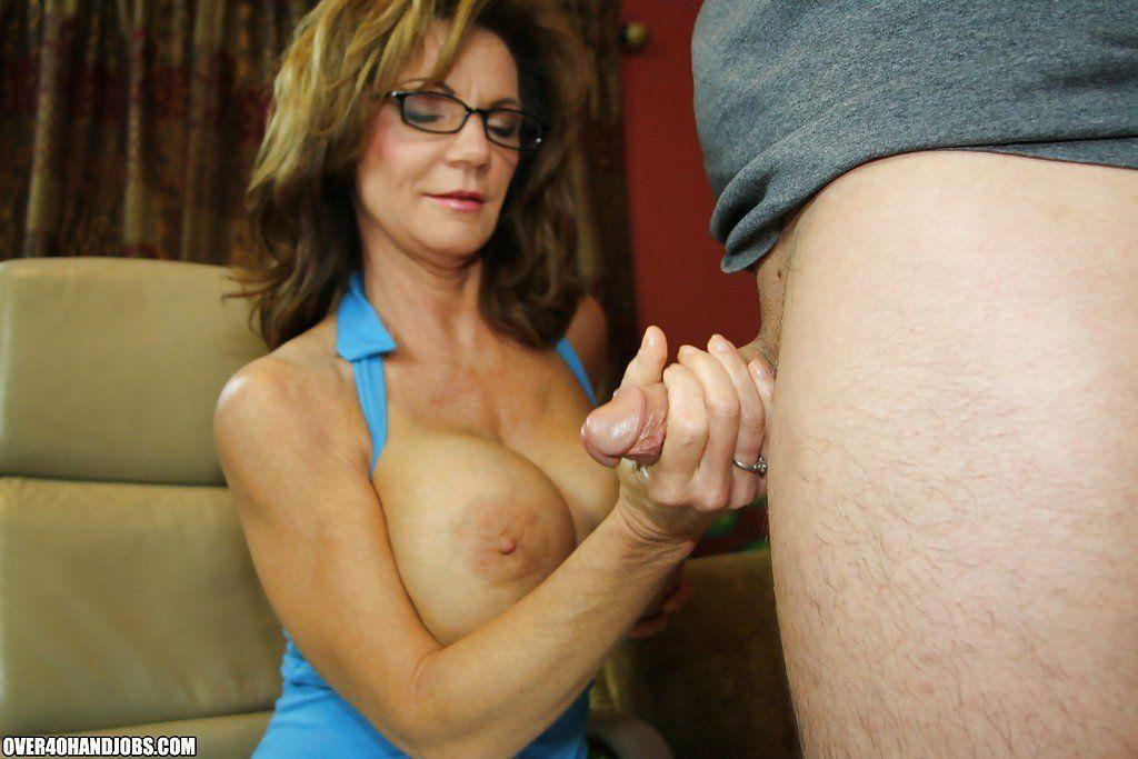 Busty mature ladies hand jobs