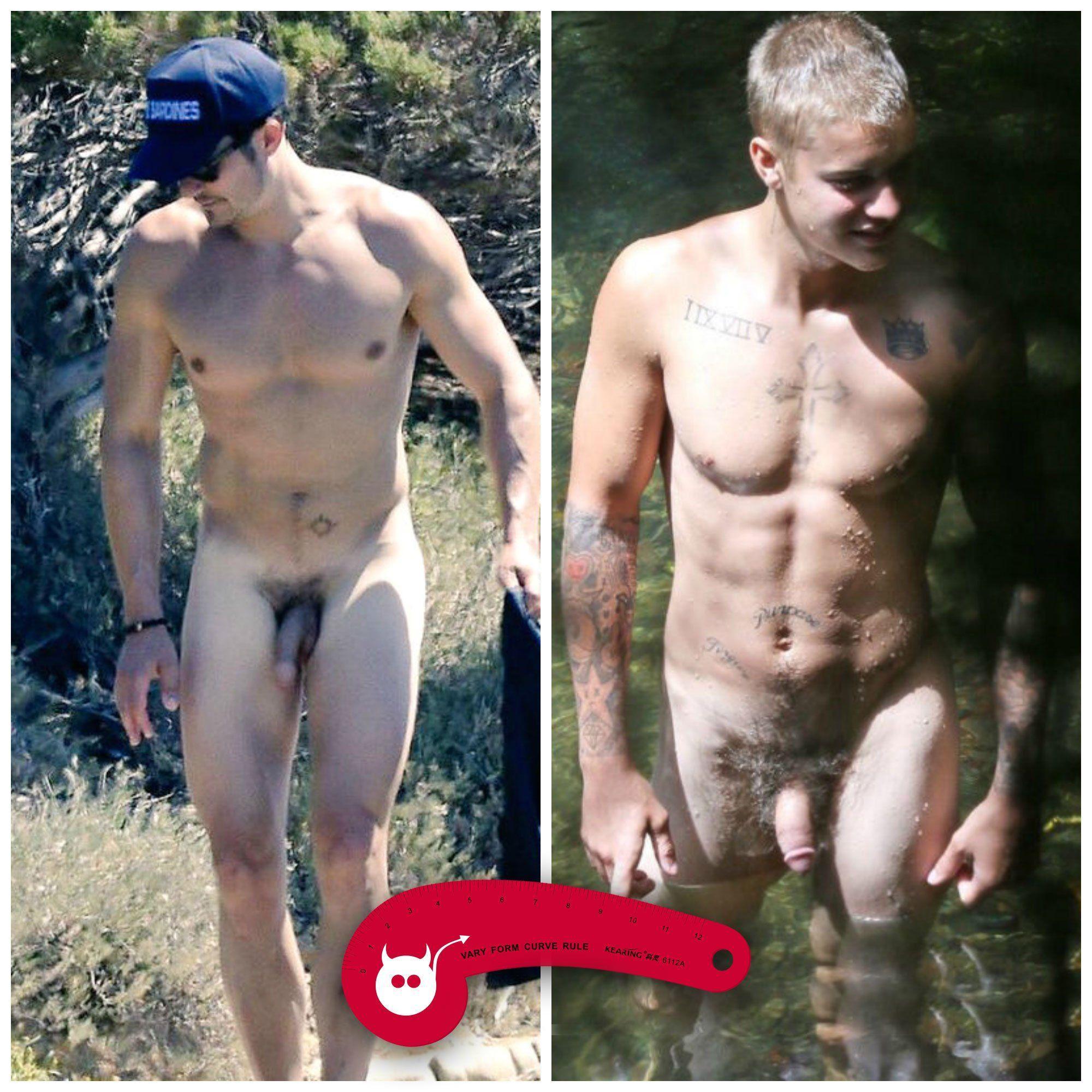 Naked celebrities cock