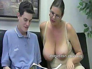 Big tit tutor