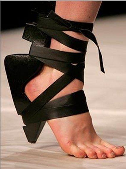 best of Fetish Damaged high heels