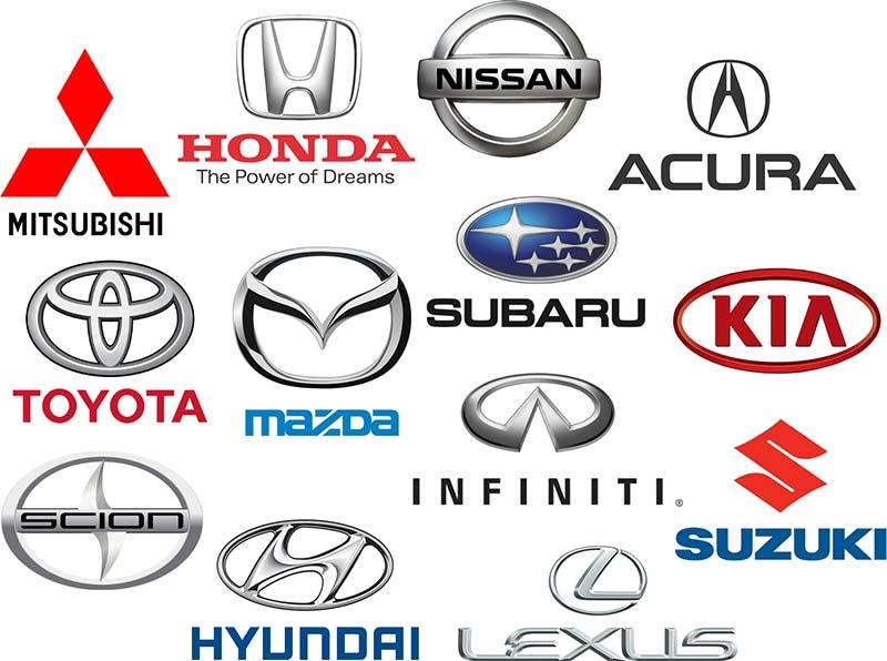 Asian car brands