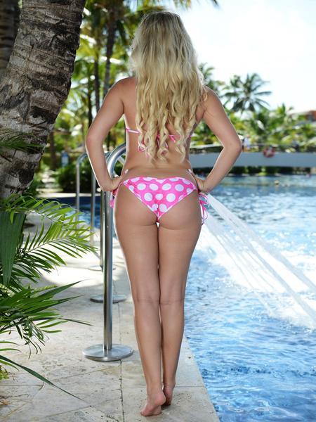 Zena reccomend Bikini butt girl