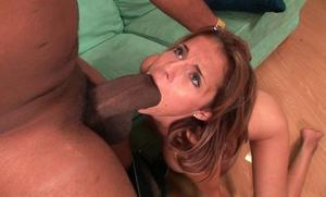 Deep throat massive cock
