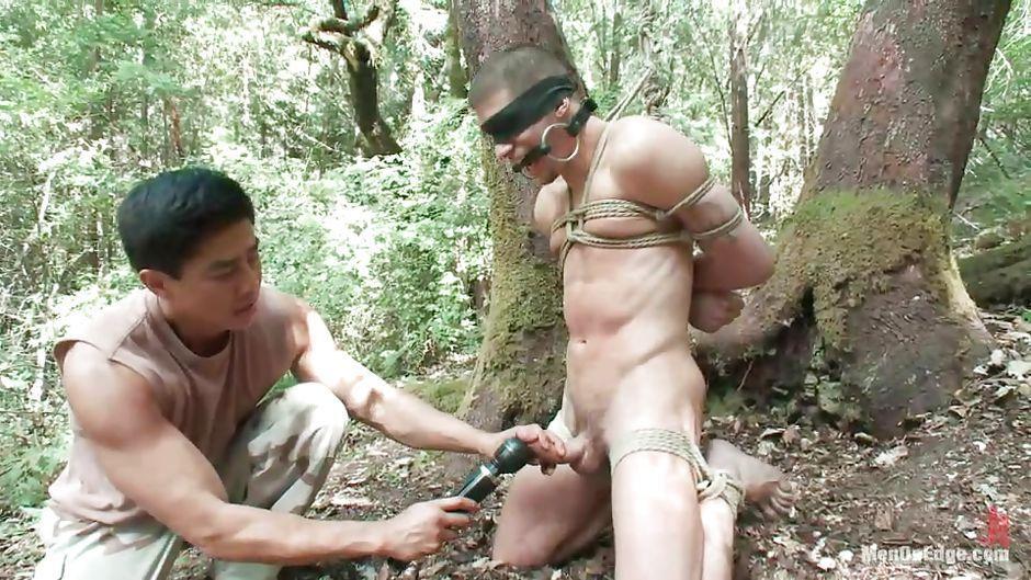 dominated men naked