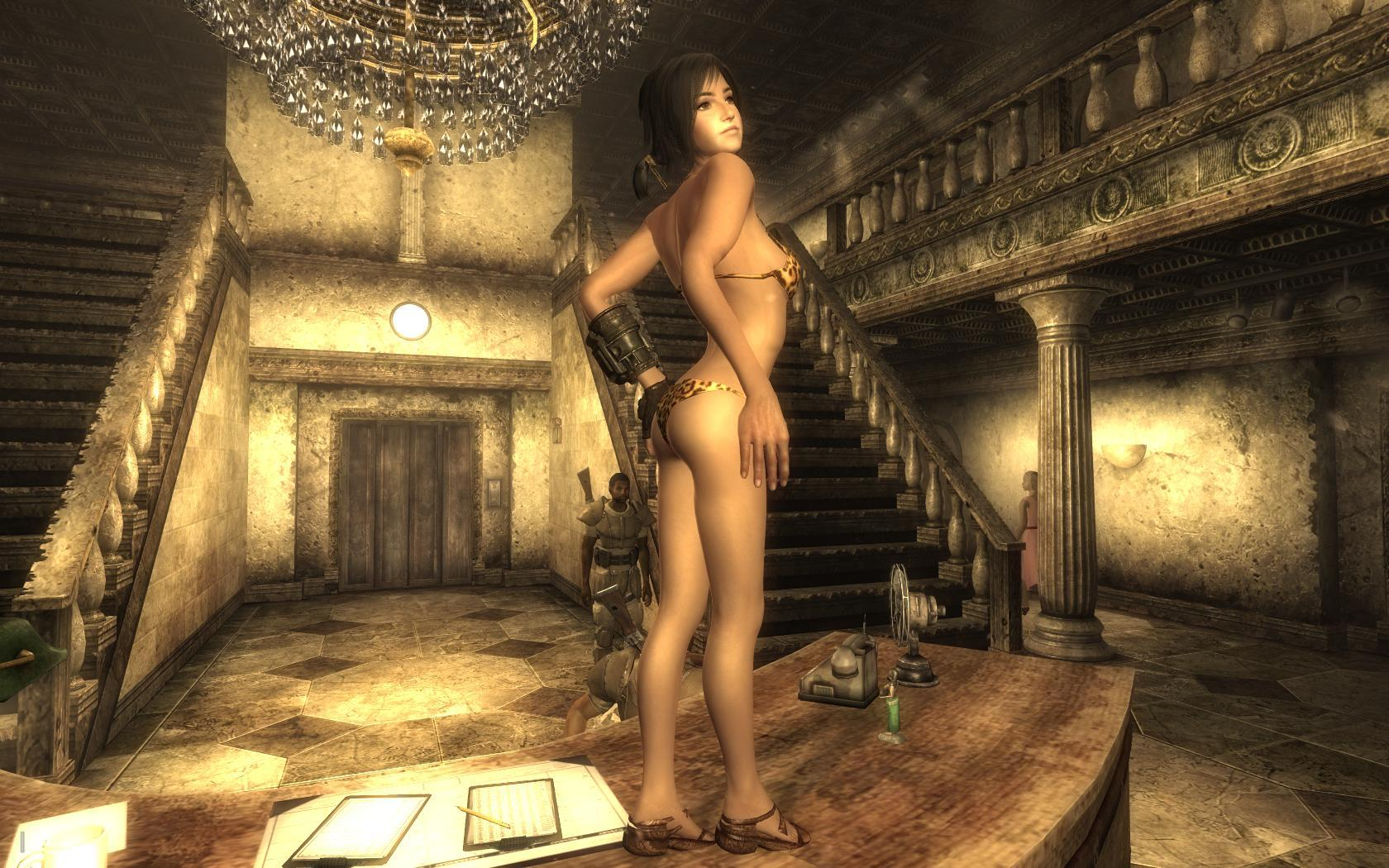 For that Fallout new vegas sex mod can not