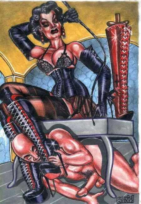 Erotic cartoons by chris of england