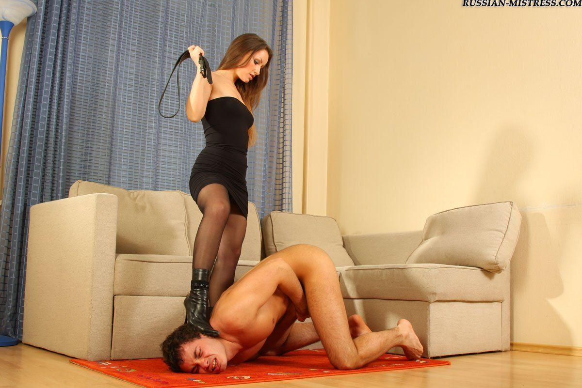 best of Femdom video mistress Russian