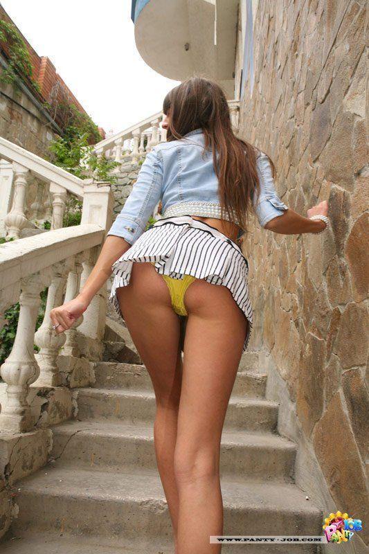 Upskirt xxx panties