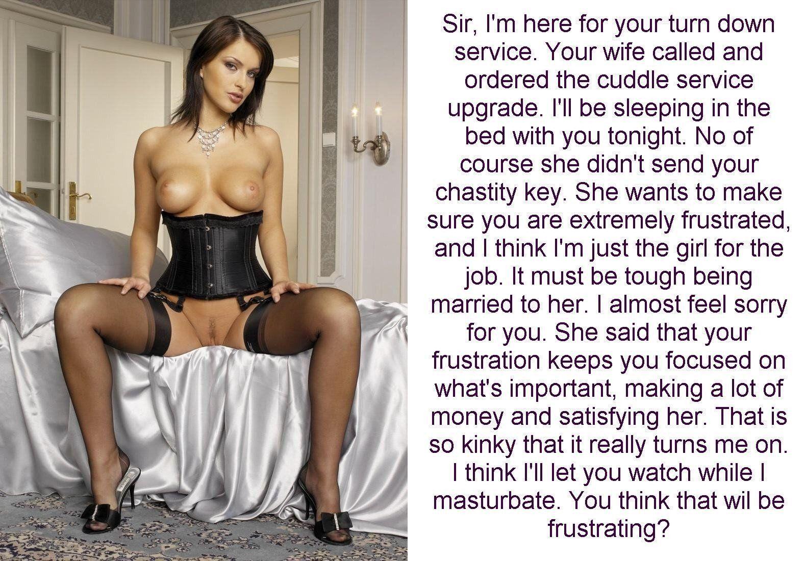 old captions female chastity extreme