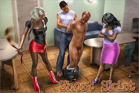 free Femdom spank stories