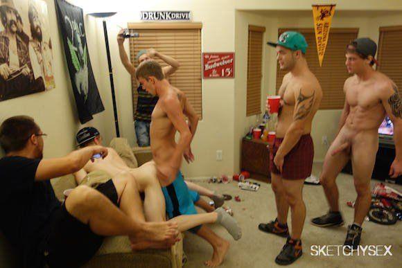 Hot gay college orgies