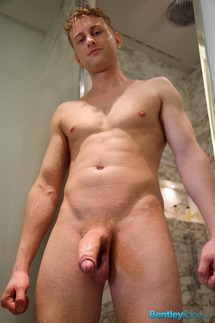 gay hunk shower