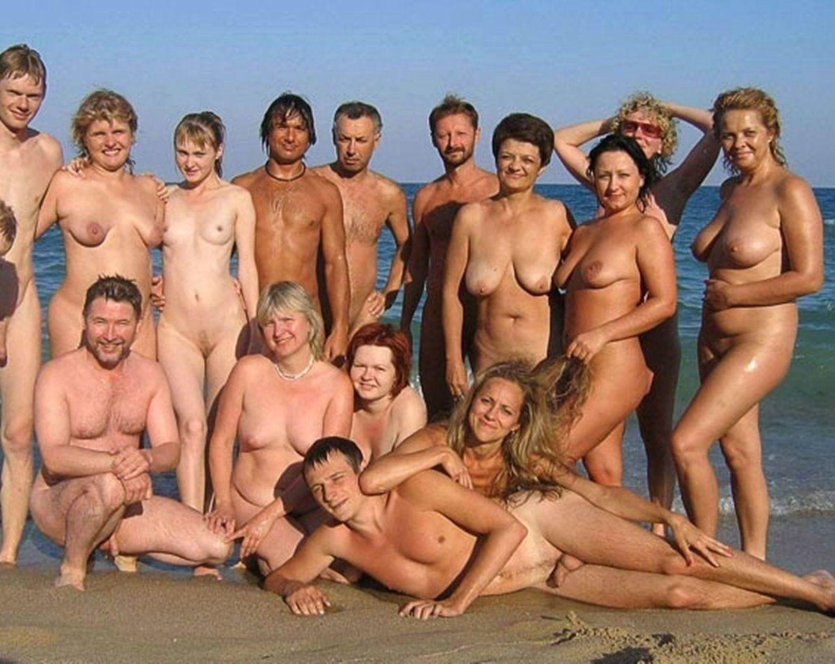 Blue L. reccomend Group beach nudist pictures