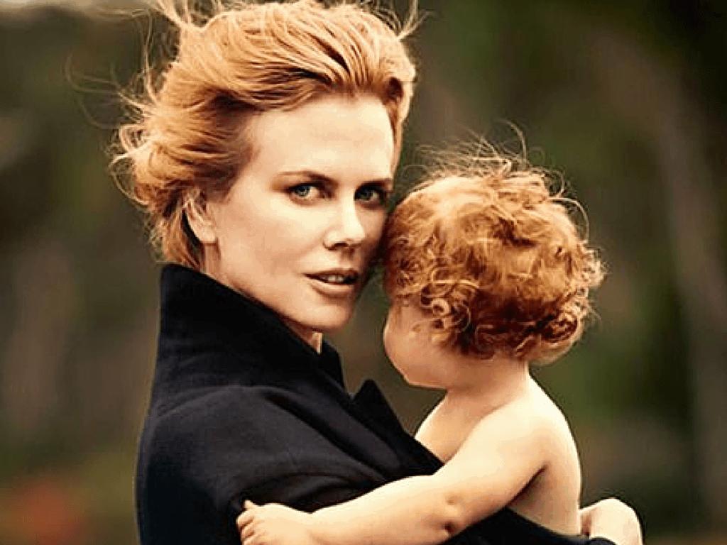Hair redhead mom