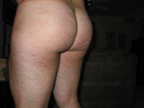 Hairy bum hole