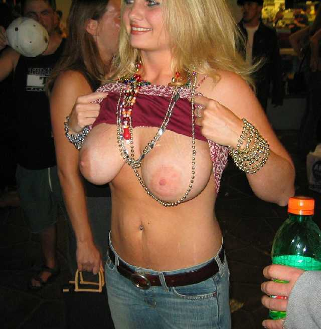 Big mature boobs mardi gras nude