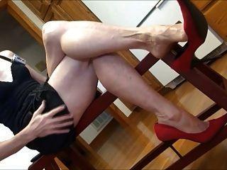 Hairy wife amateur ass