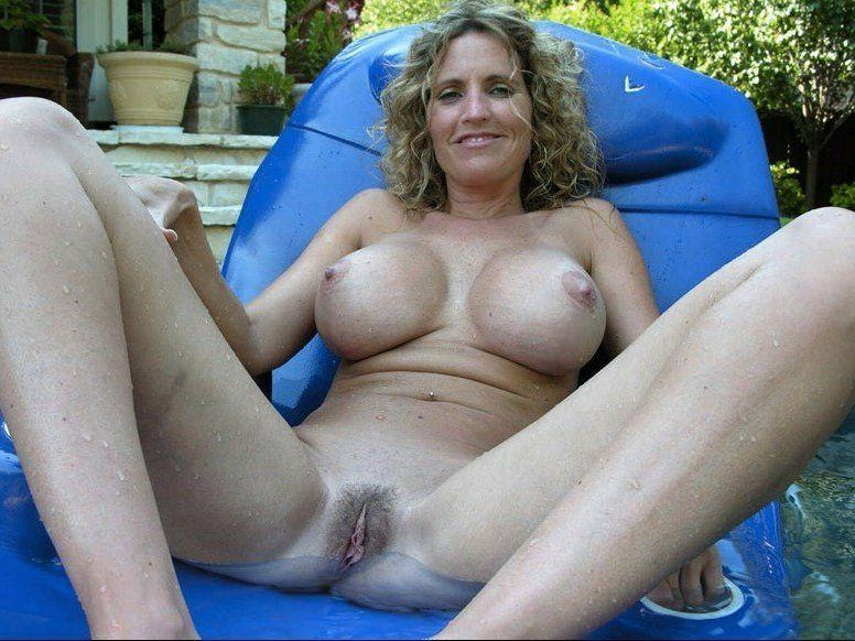 Beach horny lady mature