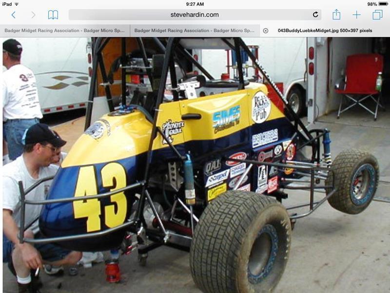 Micro midget race car