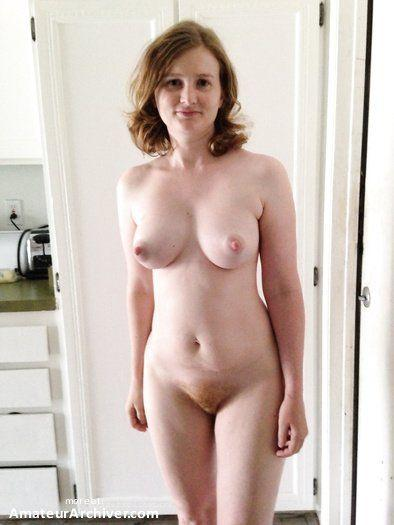 Naked redheaded wife