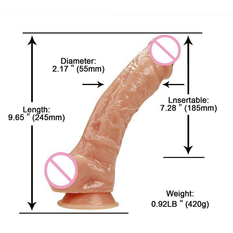 New 5 inch diameter dildo