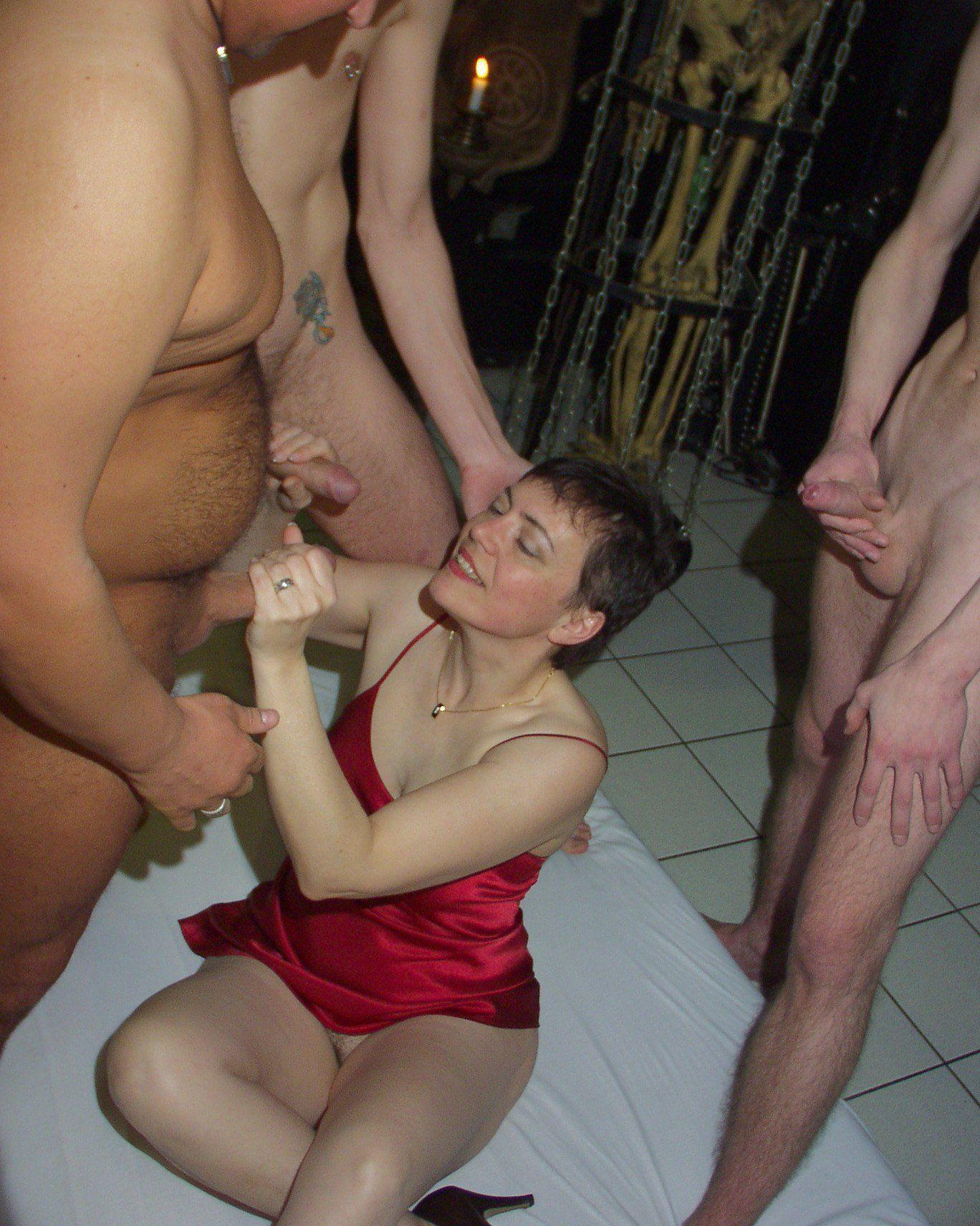 Mature cock and ball torture
