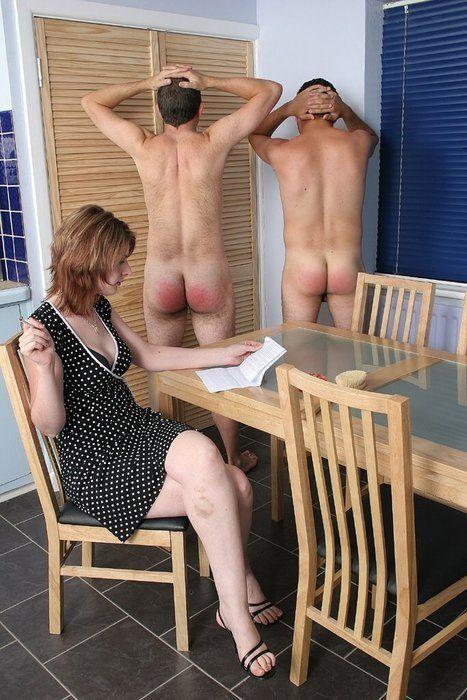 Pantyhose discipline husband