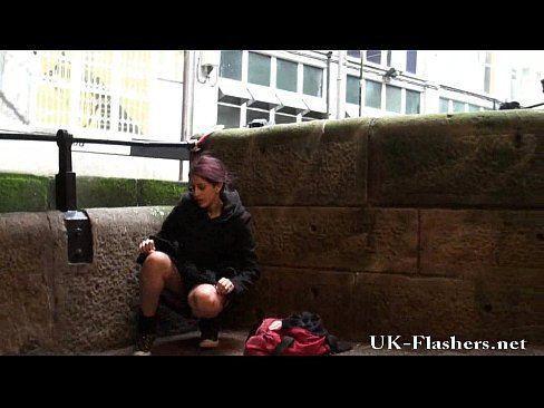 Peeing video british