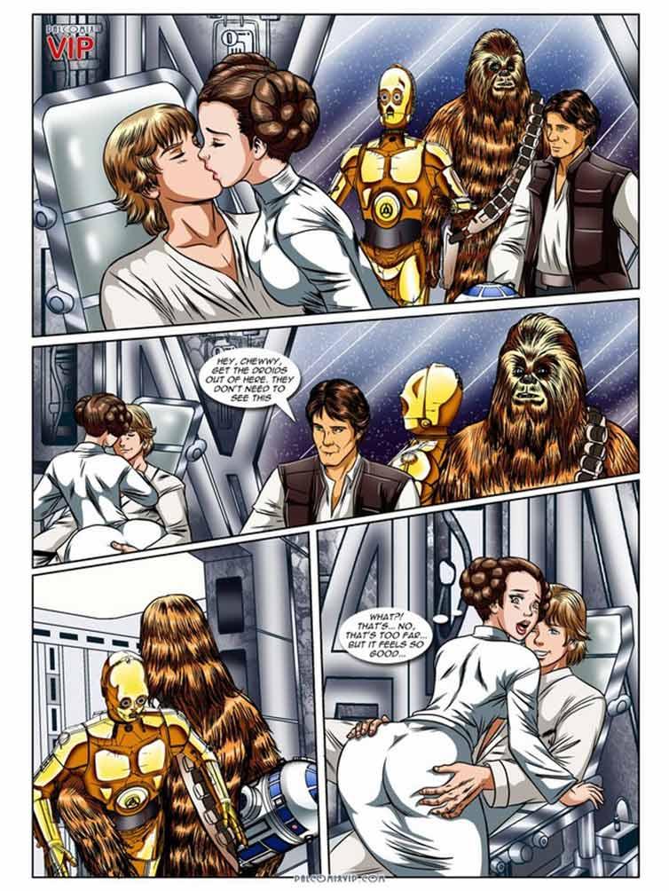 Hentai prinzessin leia Prinzessin Leia