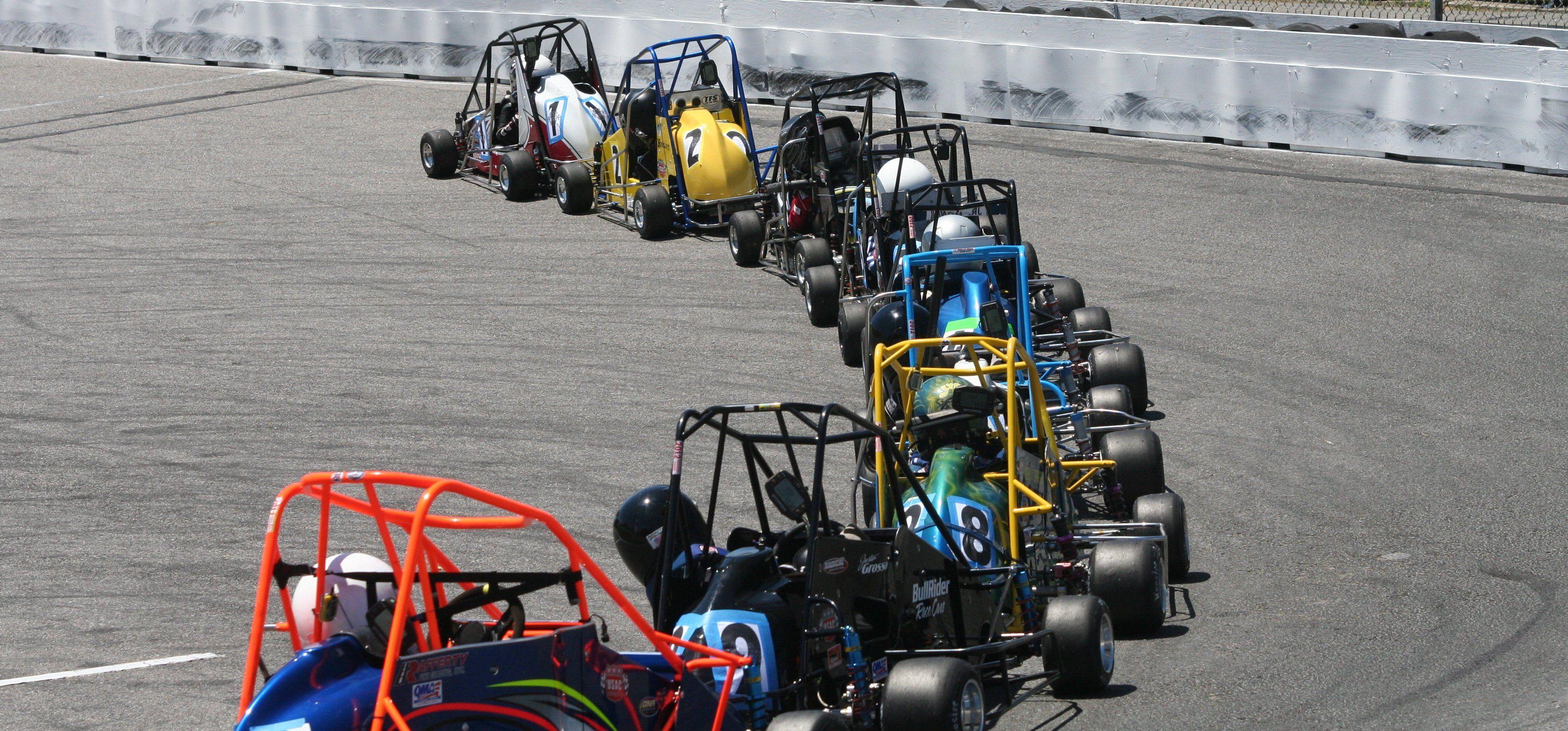 Racing midget california quarter