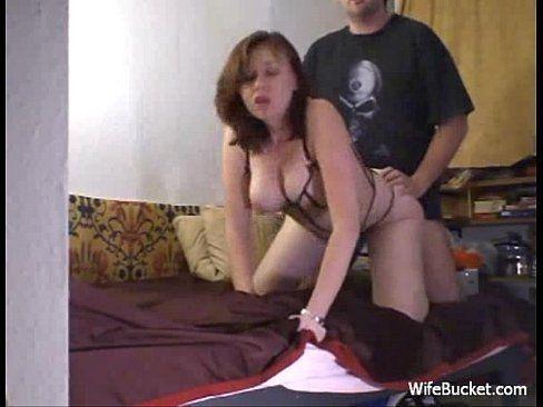 Native american wife sharing blowjob