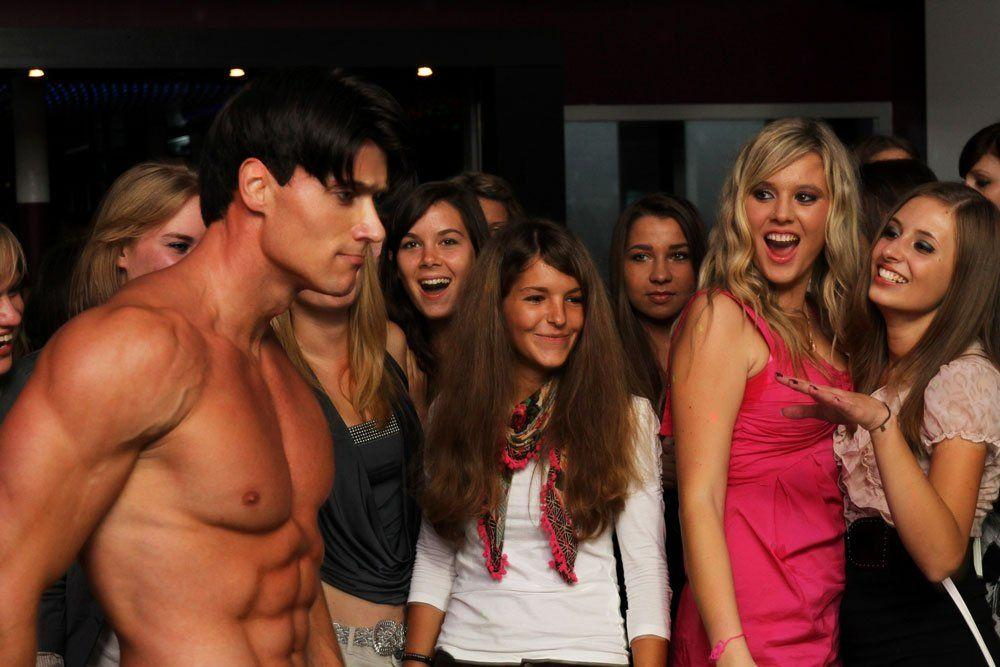Male strippers party bachelorette