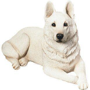 Cold F. reccomend Swinging garden german shepherd figurine