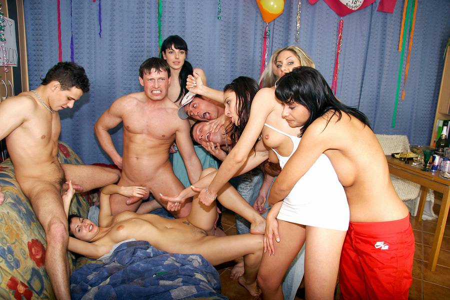 Teen sex party films