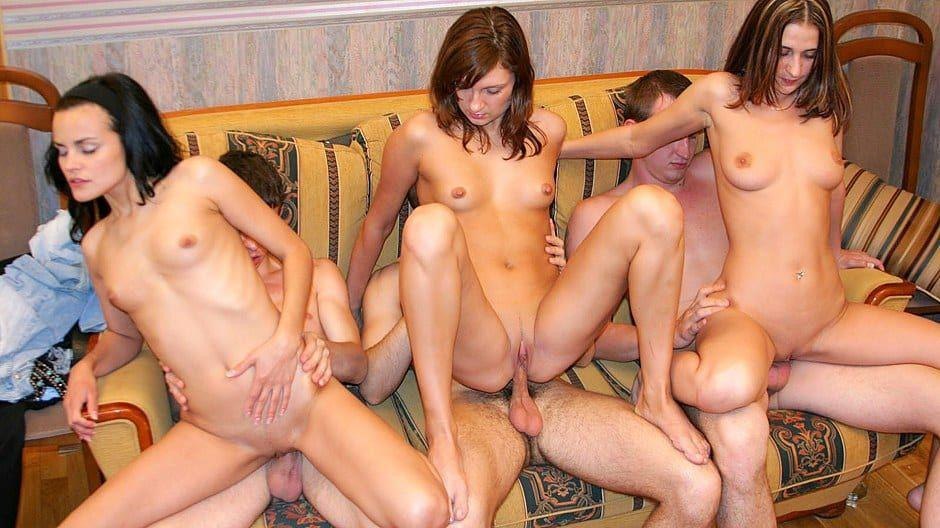 Young sex orgy party movies